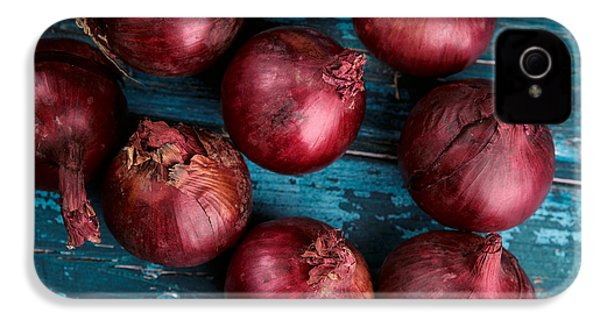 Red Onions IPhone 4 Case by Nailia Schwarz