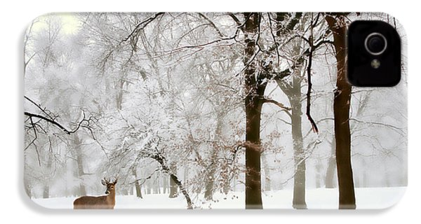 Winter's Breath IPhone 4 Case by Jessica Jenney
