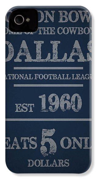 Dallas Cowboys IPhone 4 Case by Joe Hamilton