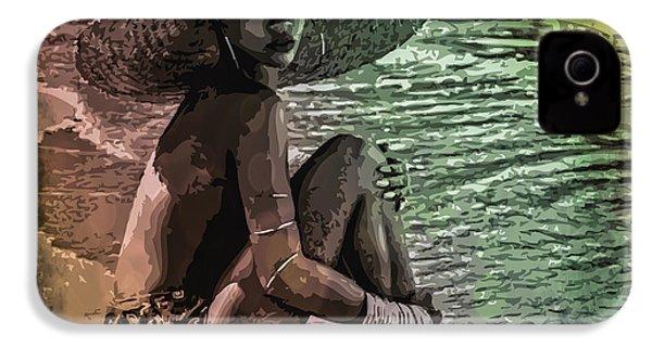 Rihanna IPhone 4 / 4s Case by Svelby Art