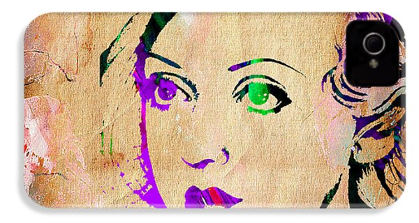 Bette Davis Collection IPhone 4 / 4s Case by Marvin Blaine