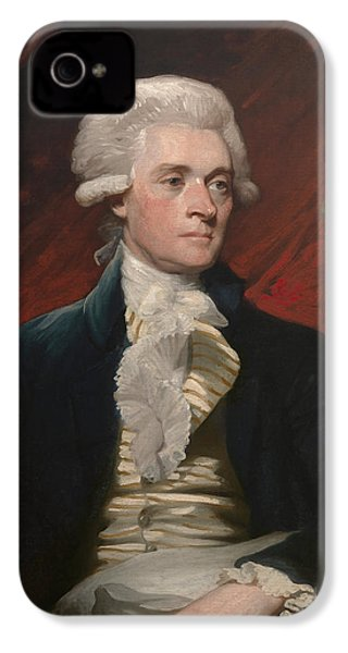 Thomas Jefferson IPhone 4 Case by War Is Hell Store