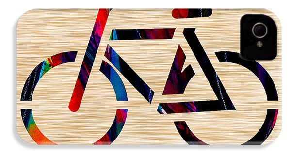 Bike IPhone 4 / 4s Case by Marvin Blaine