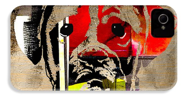 Boxer IPhone 4 / 4s Case by Marvin Blaine