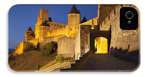 Medieval Carcassonne IPhone 4 Case by Brian Jannsen