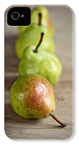 Pears IPhone 4 Case by Nailia Schwarz