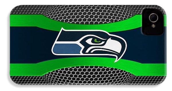 Seattle Seahawks IPhone 4 Case by Joe Hamilton