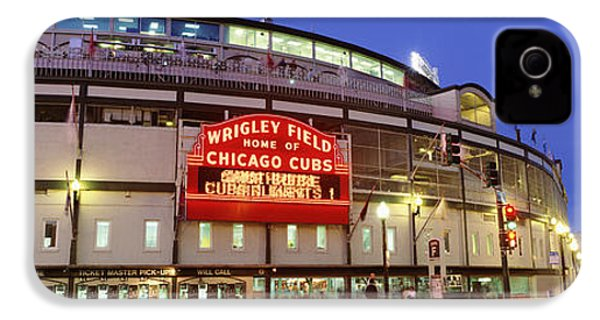 Usa, Illinois, Chicago, Cubs, Baseball IPhone 4 Case by Panoramic Images