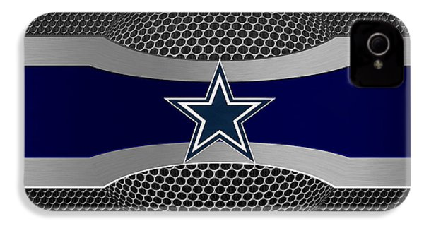Dallas Cowboys IPhone 4 Case by Joe Hamilton