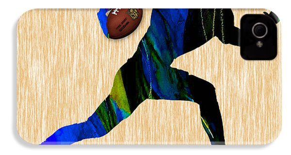 Football IPhone 4 Case by Marvin Blaine