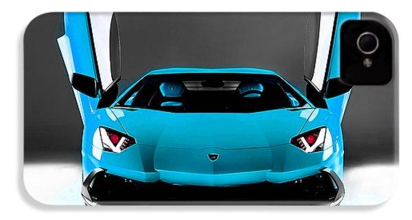 Lamborghini IPhone 4 / 4s Case by Marvin Blaine