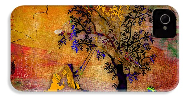 Tree Wall Art IPhone 4 Case by Marvin Blaine