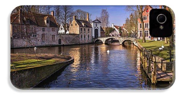 Blue Bruges IPhone 4 Case by Carol Japp