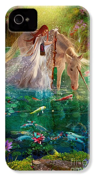 A Curious Introduction IPhone 4 / 4s Case by Aimee Stewart