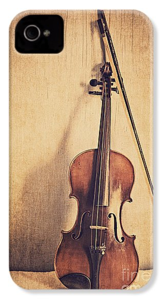 A Fiddle IPhone 4 Case by Emily Kay
