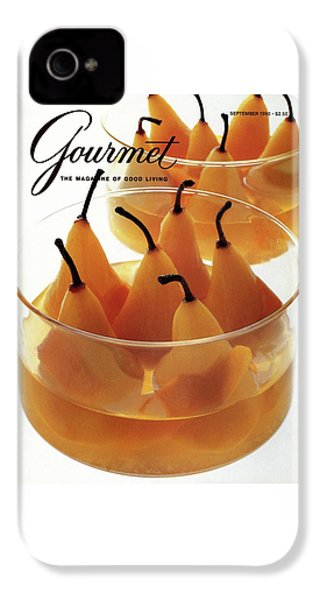 A Gourmet Cover Of Baked Pears IPhone 4 Case