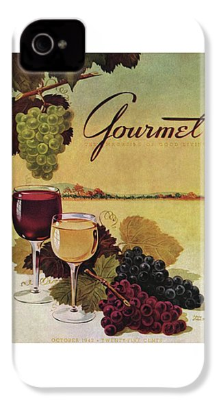A Gourmet Cover Of Wine IPhone 4 Case