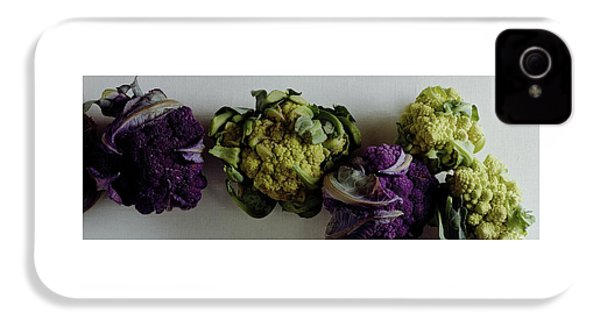 A Group Of Cauliflower Heads IPhone 4 Case