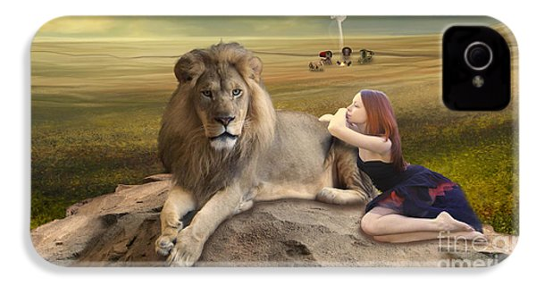 A Magnificent Friendship IPhone 4 Case by Linda Lees