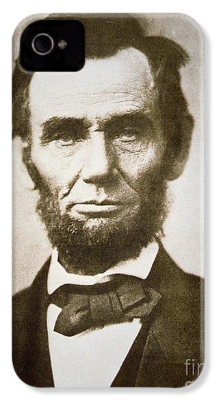 Abraham Lincoln IPhone 4 Case by Alexander Gardner