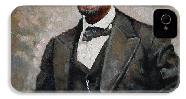 Abraham Lincoln IPhone 4 / 4s Case by Ylli Haruni