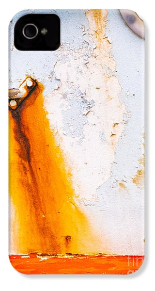 IPhone 4 Case featuring the photograph Abstract Boat Detail by Silvia Ganora