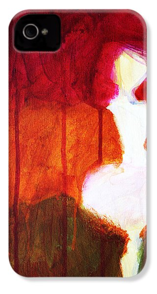 Abstract Ghost Figure No. 2 IPhone 4 Case