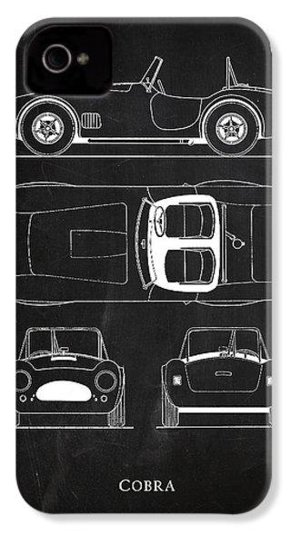 Ac Cobra IPhone 4 Case by Mark Rogan