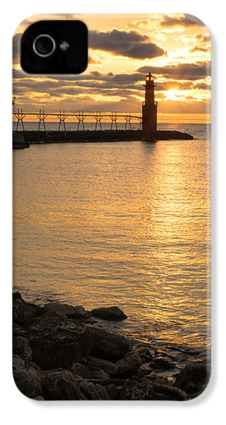 Across The Harbor IPhone 4 Case by Bill Pevlor