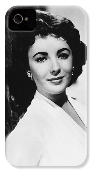 Actress Elizabeth Taylor IPhone 4 Case by Underwood Archives