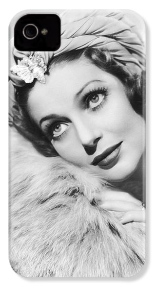 Actress Loretta Young IPhone 4 Case