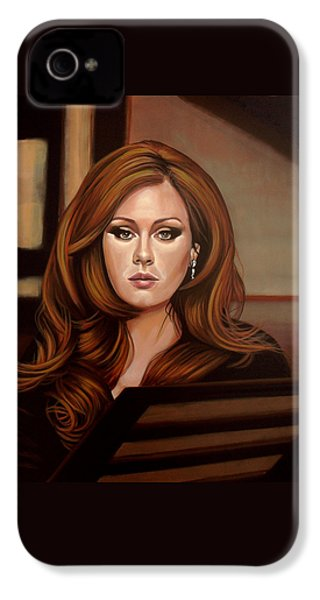 Adele IPhone 4 / 4s Case by Paul Meijering
