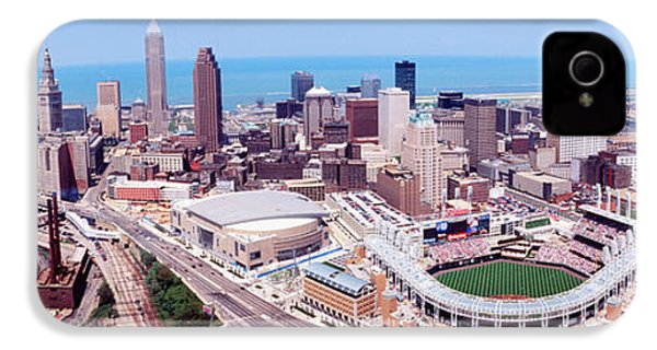 Aerial View Of Jacobs Field, Cleveland IPhone 4 Case