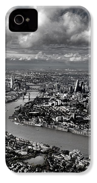 Aerial View Of London 4 IPhone 4 Case