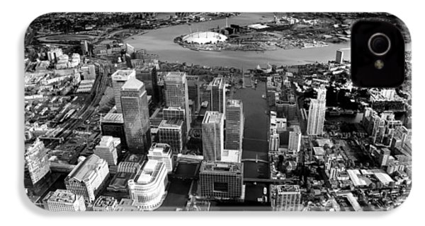 Aerial View Of London 5 IPhone 4 Case by Mark Rogan