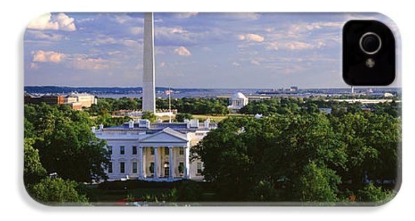 Aerial, White House, Washington Dc IPhone 4 Case by Panoramic Images