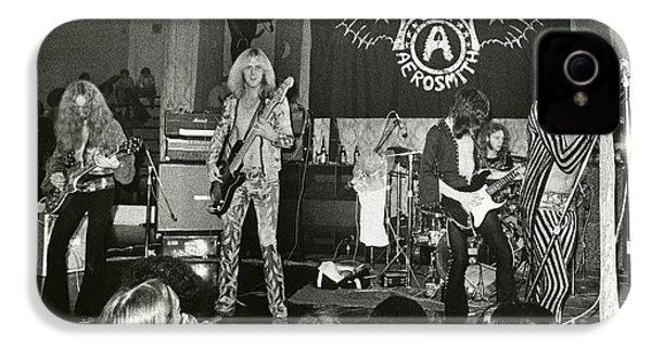 Aerosmith - Aerosmith Tour 1973 IPhone 4 Case by Epic Rights