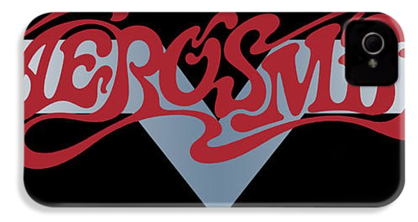 Aerosmith - Dream On Banner 1973 IPhone 4 Case by Epic Rights