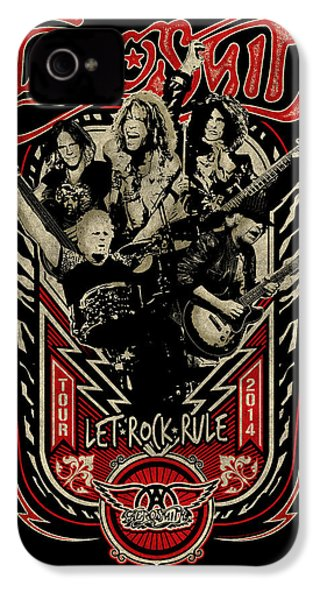 Aerosmith - Let Rock Rule World Tour IPhone 4 Case by Epic Rights