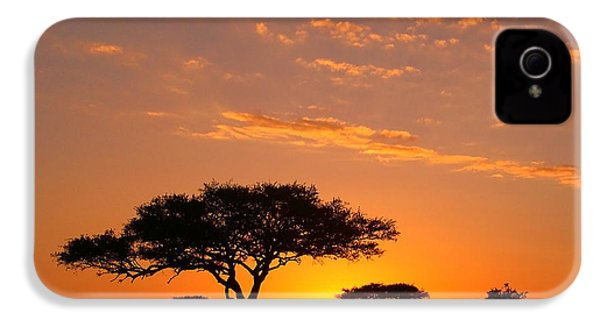 African Sunset IPhone 4 Case by Sebastian Musial