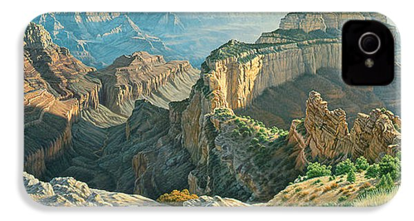 Afternoon-north Rim IPhone 4 / 4s Case by Paul Krapf