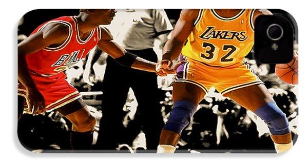 Air Jordan On Magic IPhone 4 Case by Brian Reaves