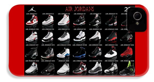 Air Jordan Shoe Gallery IPhone 4 Case
