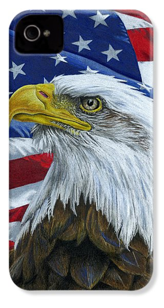 American Eagle IPhone 4 Case by Sarah Batalka