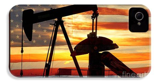 American Oil  IPhone 4 Case