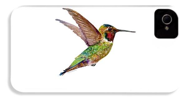 Anna Hummingbird IPhone 4 Case by Amy Kirkpatrick