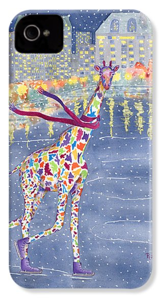 Annabelle On Ice IPhone 4 Case by Rhonda Leonard