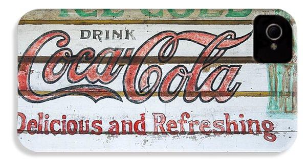 Antique Coca Cola Sign  IPhone 4 Case