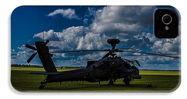 Apache Gun Ship IPhone 4 Case by Martin Newman
