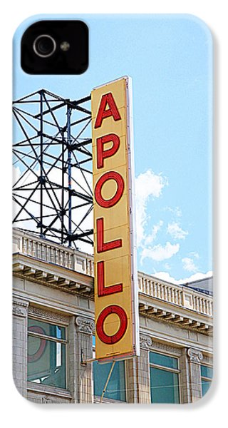 Apollo Theater Sign IPhone 4 / 4s Case by Valentino Visentini